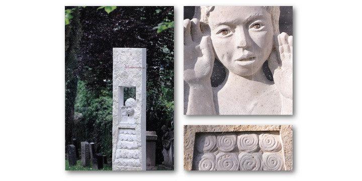 Erinnerungssteine auf dem alten Friedhof in Besigheim